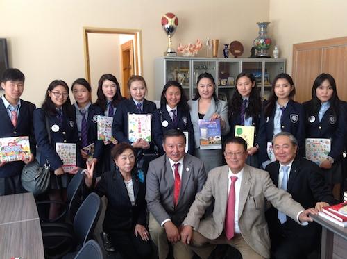 モンゴルへの子供支援プロジェクト(国際奉仕プロジェクト)